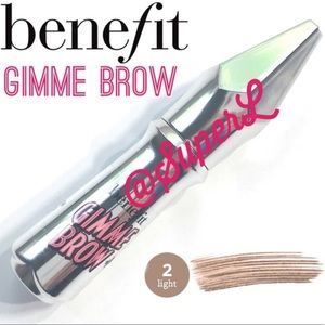 2/$20 Benefit Gimme Brow Volumizing Brow Gel 2